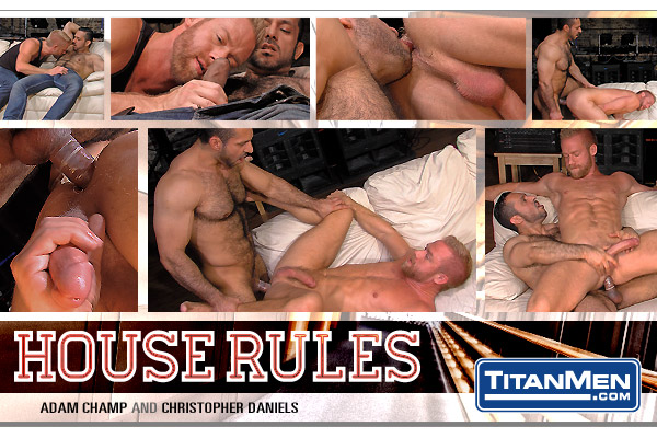 Adam Champ and Christopher Daniels in House Rules