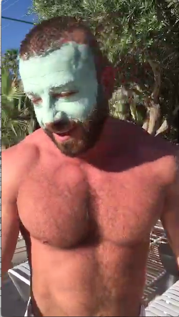 Daily Random Call Phone Clip: Hunter Has Green Stuff On His Face