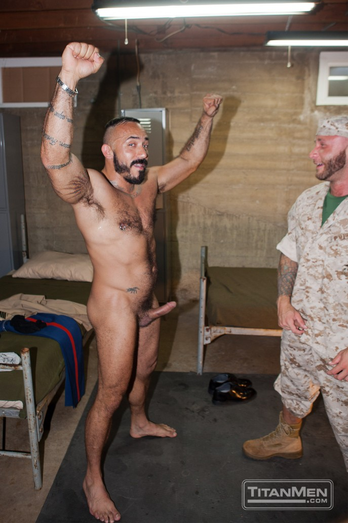 Making the Military Hotel scene with Alessio Romero and Drake Jayden