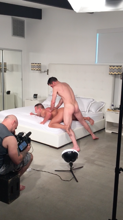 Sneak Peek: David Anthony's Return and Luke Adams' Butt. Today's Random Cell Phone Clip…