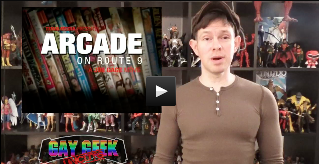 Gay Comic Geek reviews Arcade on Route 9