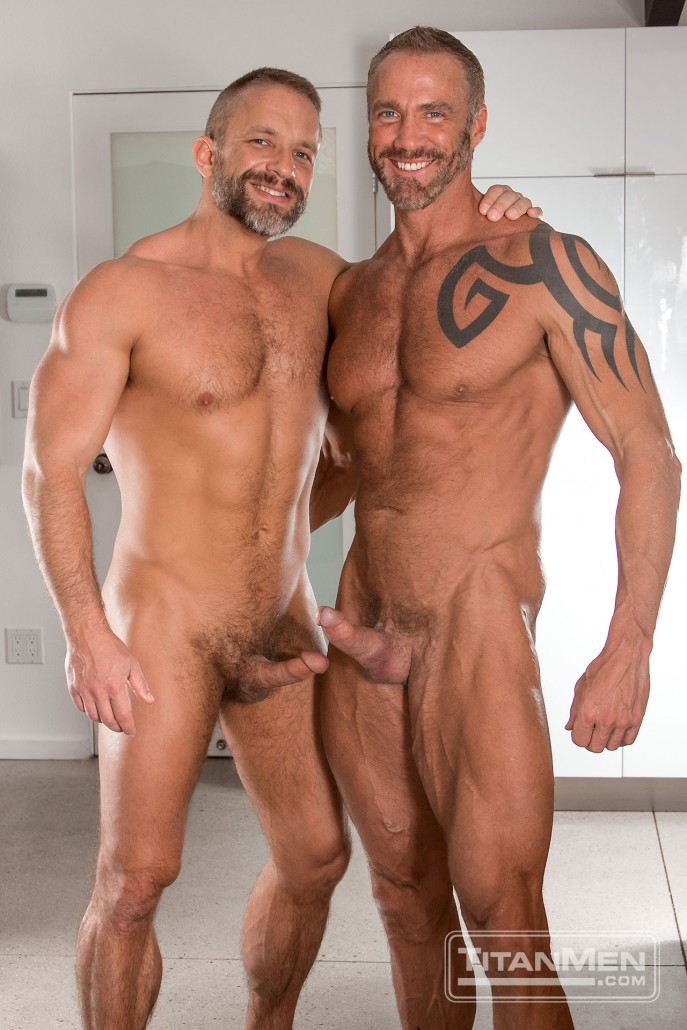 Dirk Caber and Dallas Steele in Blue Collar Ballers