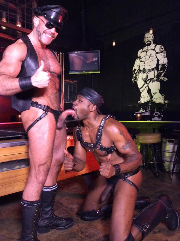 Diesel Washington and Dallas Steele Behind The Scenes