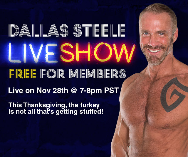 Dallas Steele To Appear Live This Saturday Night!