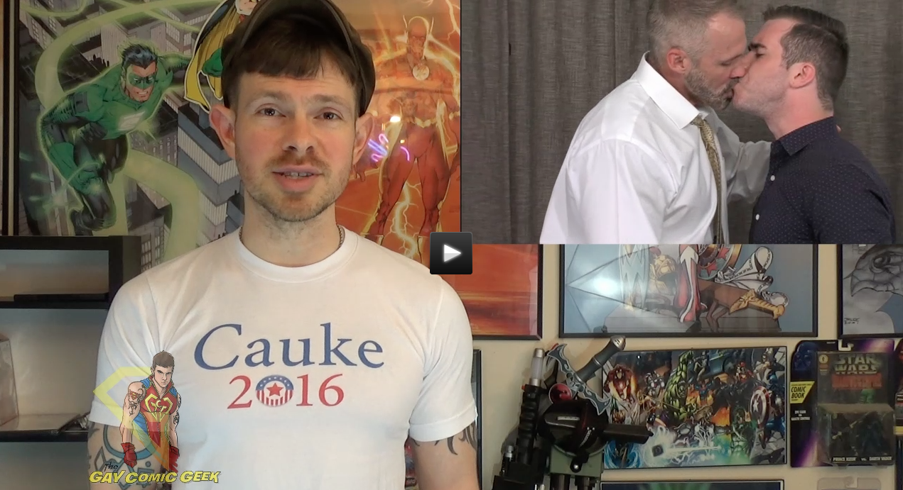 Gay Comic Geek reviews Cauke For President. (and totally raves about it)