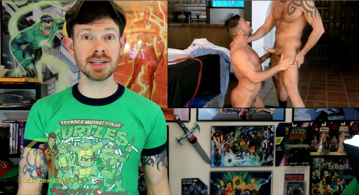 Gay Comic Geek reviews BluePrint