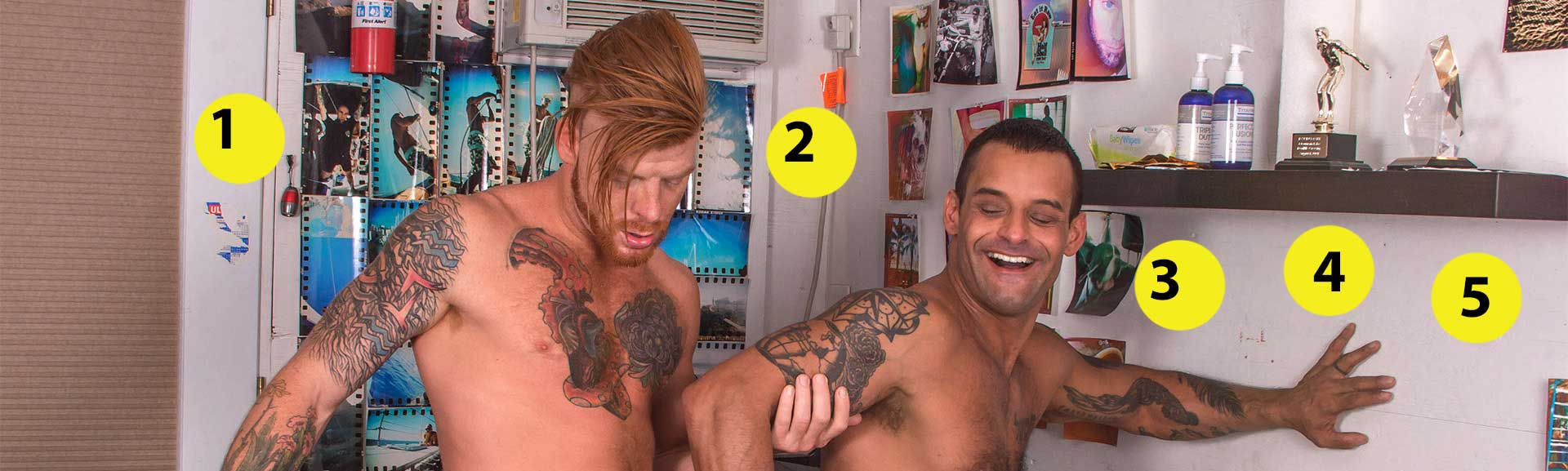 19 Things You Missed In The David Benjamin/Bennet Anthony Scene in Silverlake