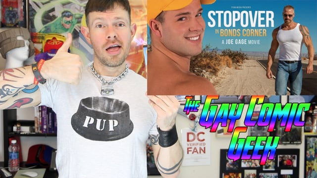 Gay Comic Geek reviews Stopover In Bond's Corner