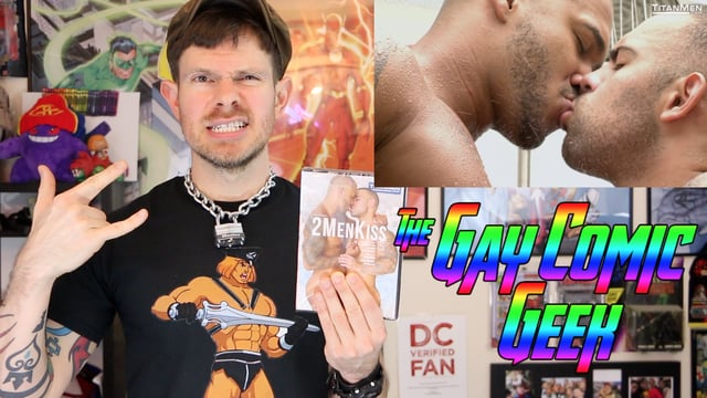 Gay Comic Geek reviews 2MenKiss