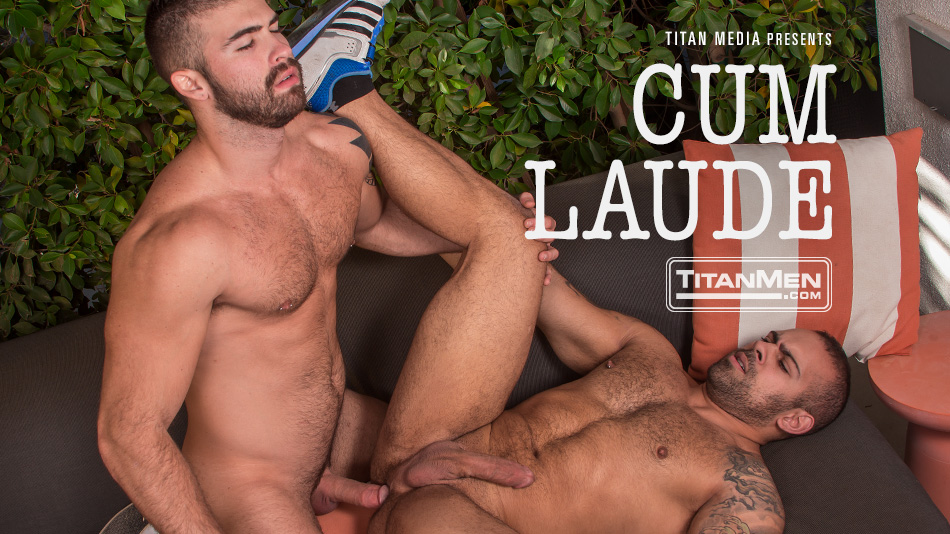 Real-Life Couple Jonah Fontana and Lorenzo Flexx Together in Cum Laude